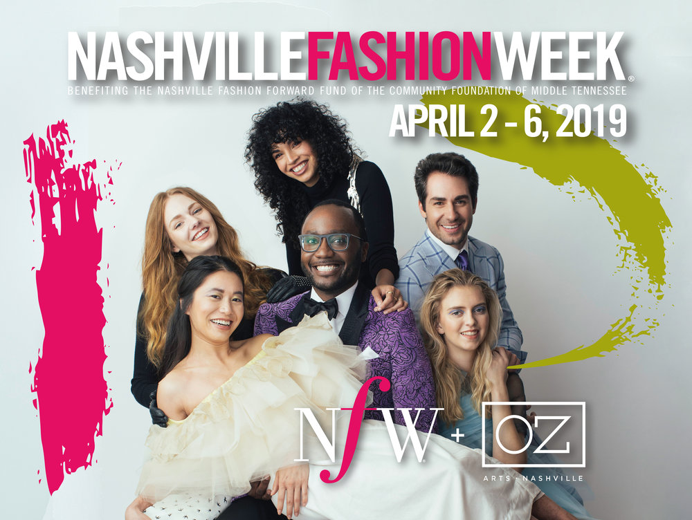 Nashville Fashion Forward recipients Eric Adler Bornhop 2015, Maria Silver 2017 and Van Hoang 2018 with their model muses. Photographed by  Daniel Meigs . Models: Ashley Fisher, Bentley Caldwell and Clare Baldridge,  AMAX Talent . Beauty: Joselyn Maness and Janelle Wood,  AMAX Creative . Location:  Wilburn Street Studio .