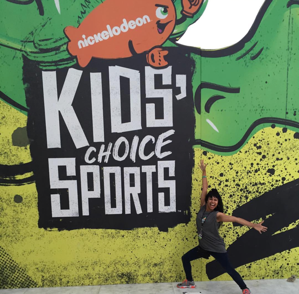 2016 Kids Choice Sports Awards. Photo Credit: Shanae Cole via Instagram.