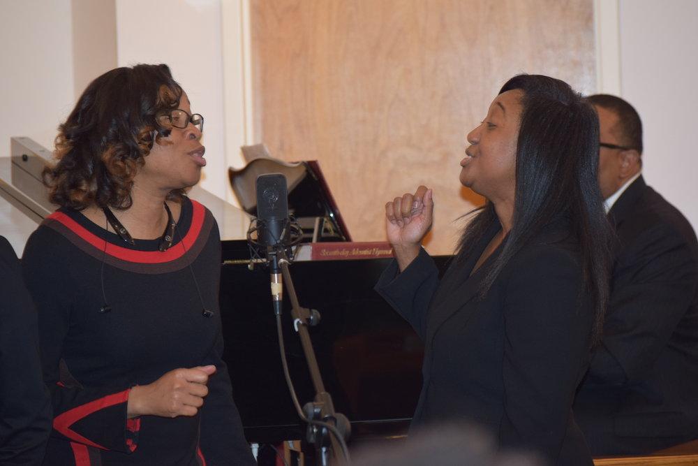 Music Department - Singing brings us joy