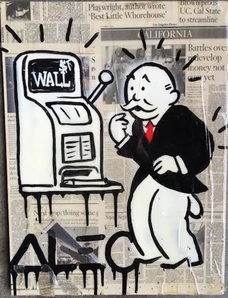 Wall Street Monopoly by Alec Monopoly