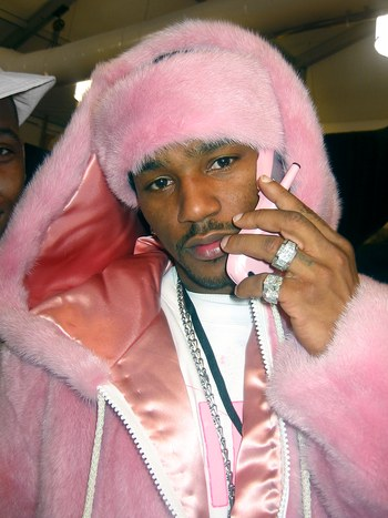 "All Kanye said was ""Pink fur, got Nori dressing like Cam,"" and we knew exactly what outfit he was talking about.  That's  a look."