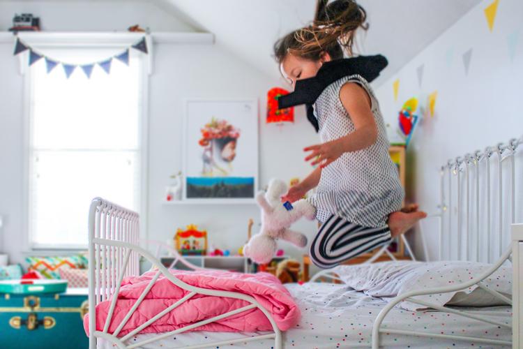 IKEA Minnen Bed Designerly