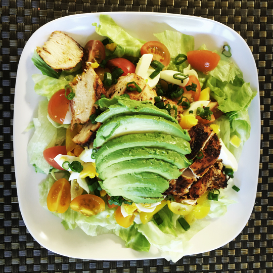 Paleo/Whole 30 Blackened Chicken Salad