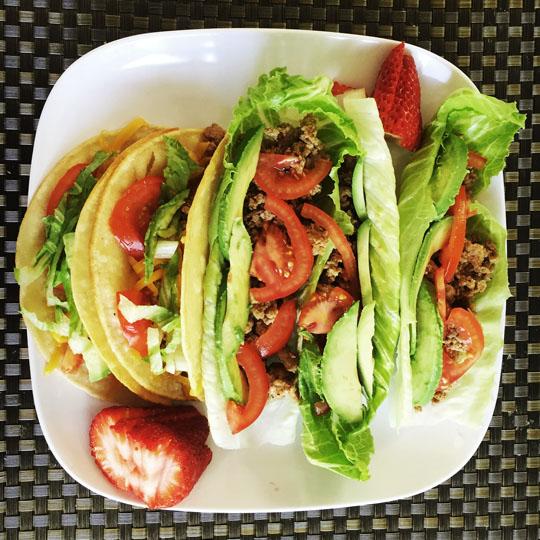 Paleo Ground Turkey Tacos