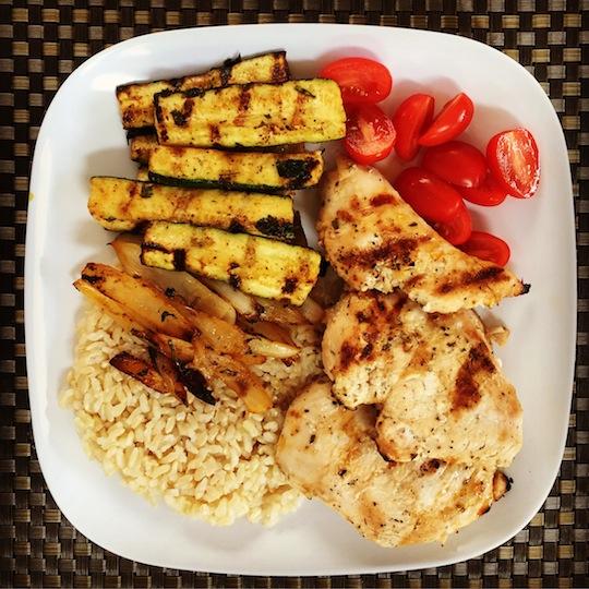 Grilled Cuban Garlic Chicken