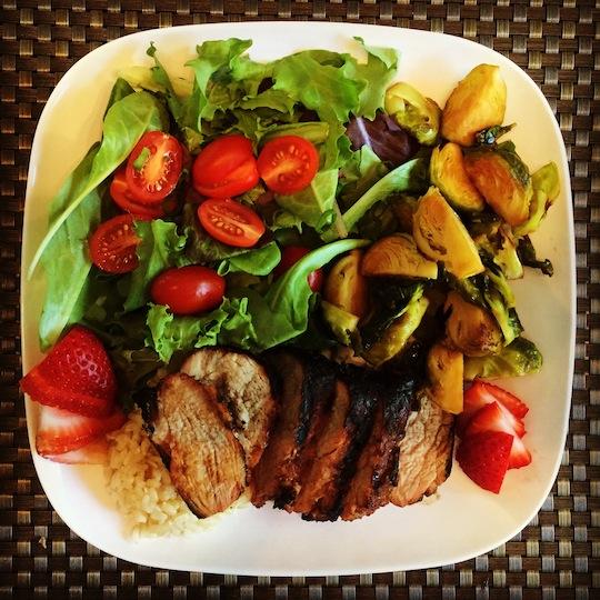 Grilled Pork Tenderloin