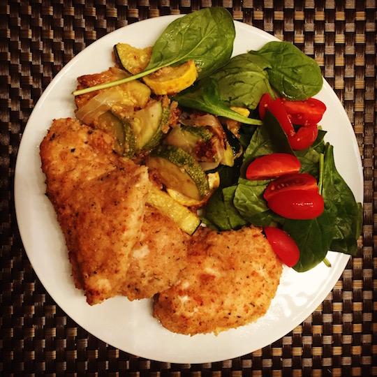 Baked Chicken & Veggies