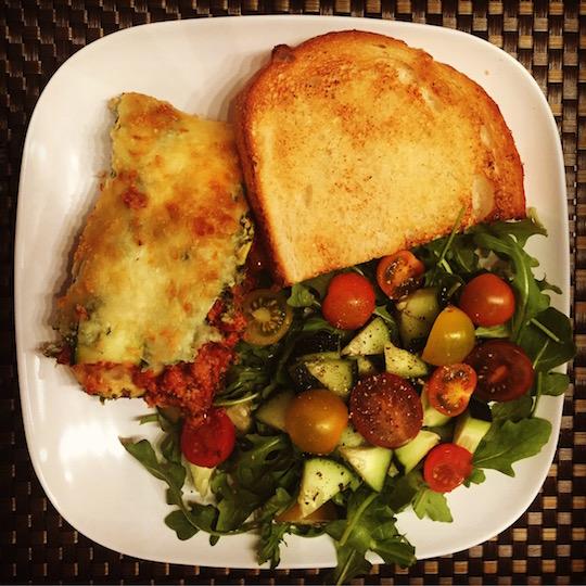 Zoodle Lasagna