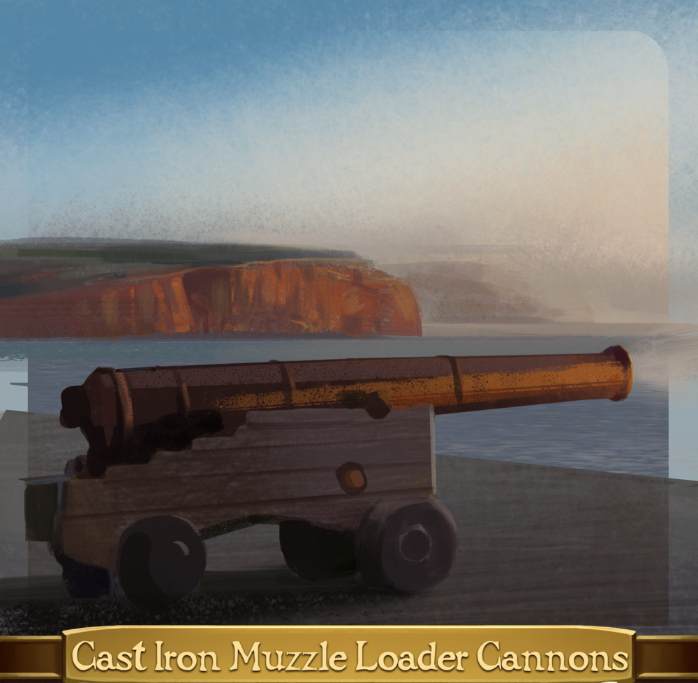 15 - Cast Iron  Muzzle Loader Cannons.png