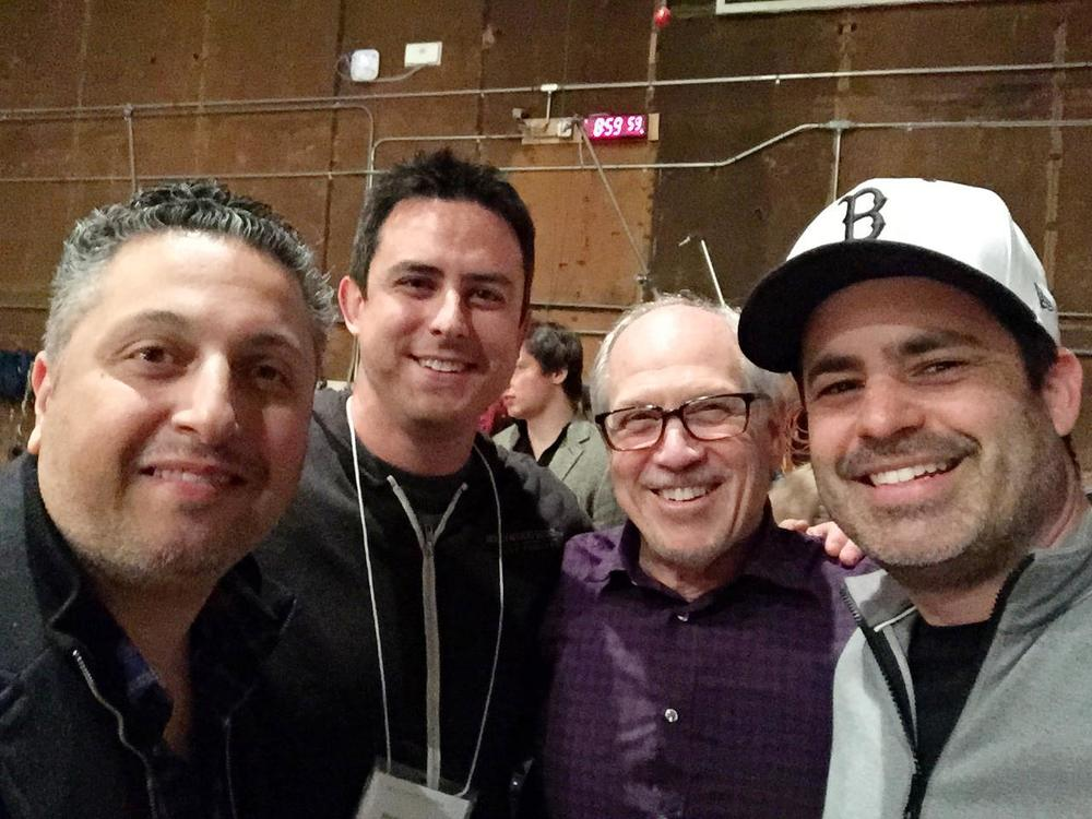 Sony with Kaveh, Michael Patti and Dennis Sands