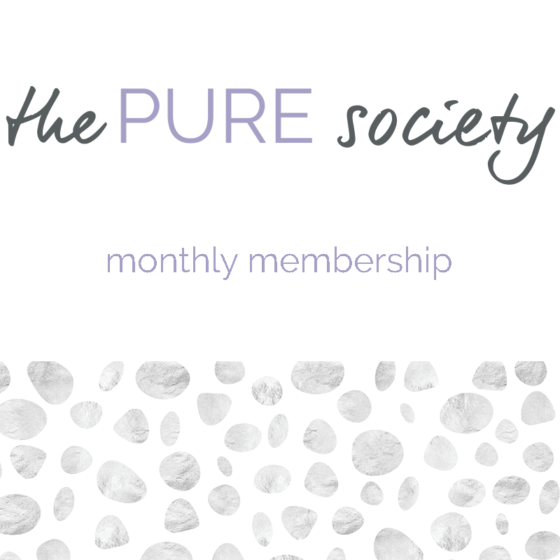 Join the PURE society, the exclusive group where I share my top tips, advice, tried and true healing techniques, how-to's and more on natural healing methods for cancer and other chronic health issues, only for YOU! And there are surprises! Who could turn down surprises?