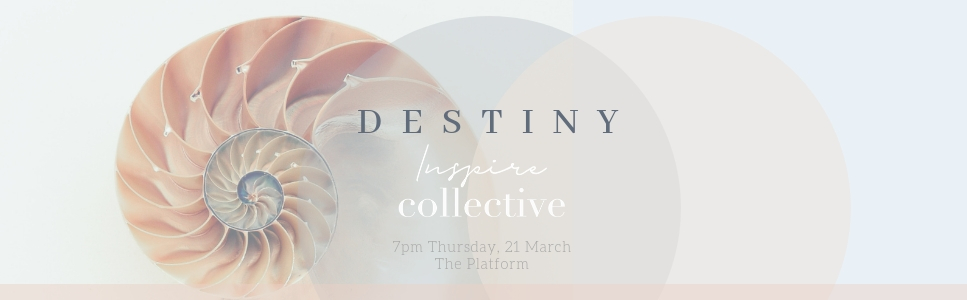 Our amazing panel of women will open your hearts and minds as we come together to explore our first theme, 'Destiny', of the year. Featuring Jeanette Giroud, Annie Gichuru, Delilah Rose and Bethia Britza on our panel of speakers! Each person who attends will take away a beautiful gift included in the ticket price.   What part does destiny play in your creative journey?