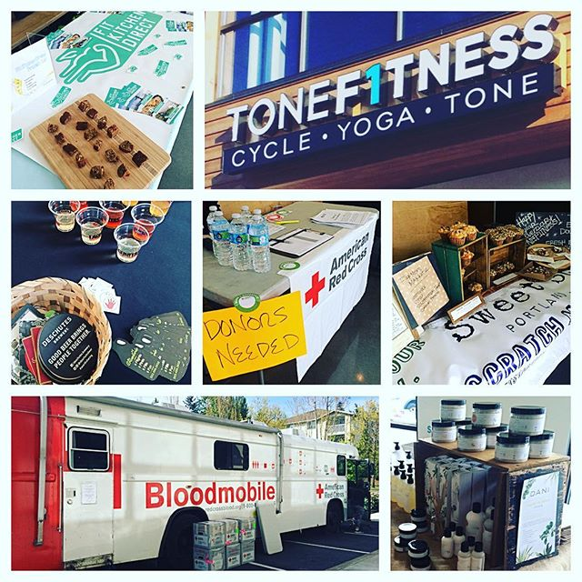 #Chill w/ Polar and all the other neat local businesses today as TONE F1TNESS turns 1! Free samples & lots of CELEBRATING!!! @tonef1tness @daninaturals @sweetstartpdx @fitkitchendirect @americanredcross @deschutesbeer