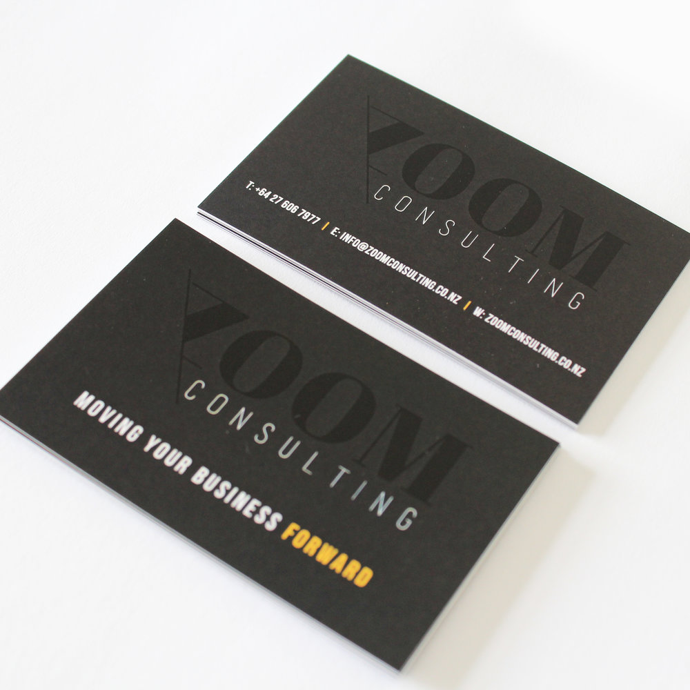 Zoom Business Cards — Vobo Design