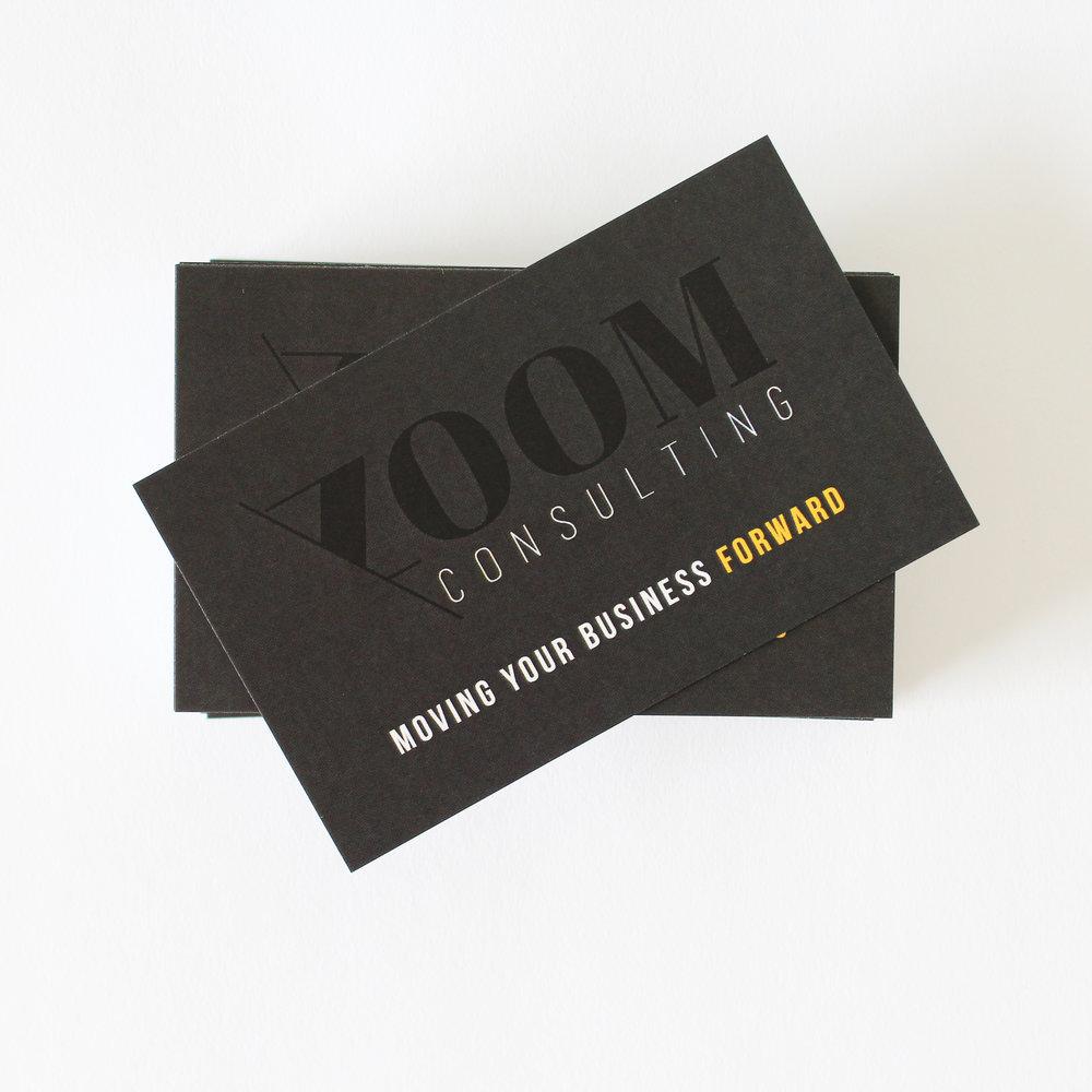 Zoom Business Cards — Vobo Design