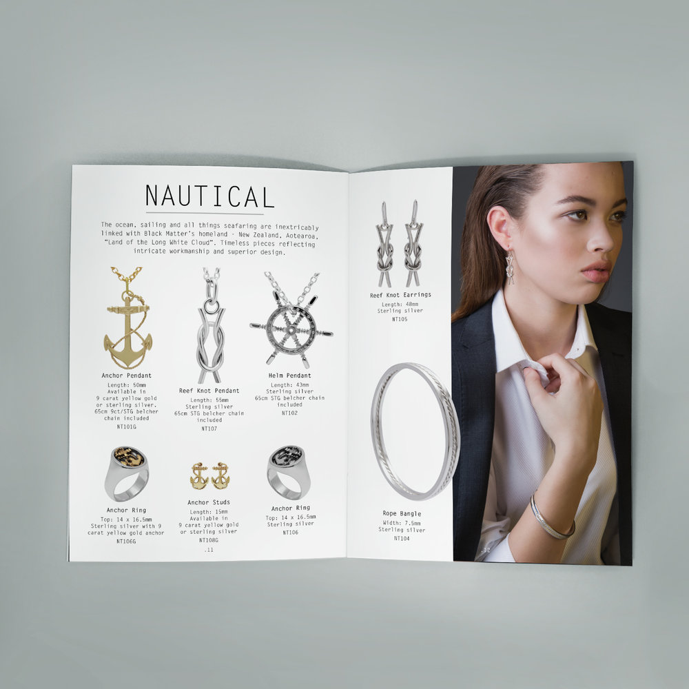 BLACK MATTER CATALOGUE  NAUTICAL SPREAD
