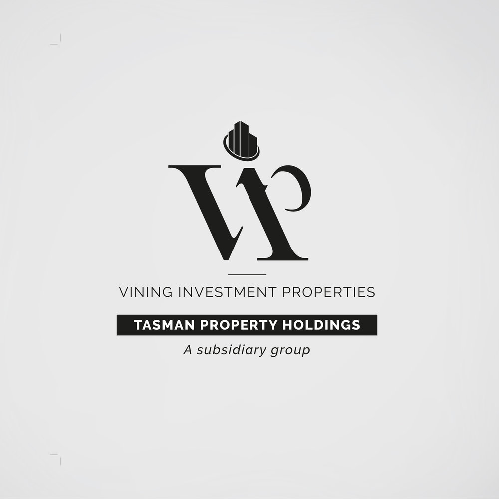 Vining Investment Properties  logo design