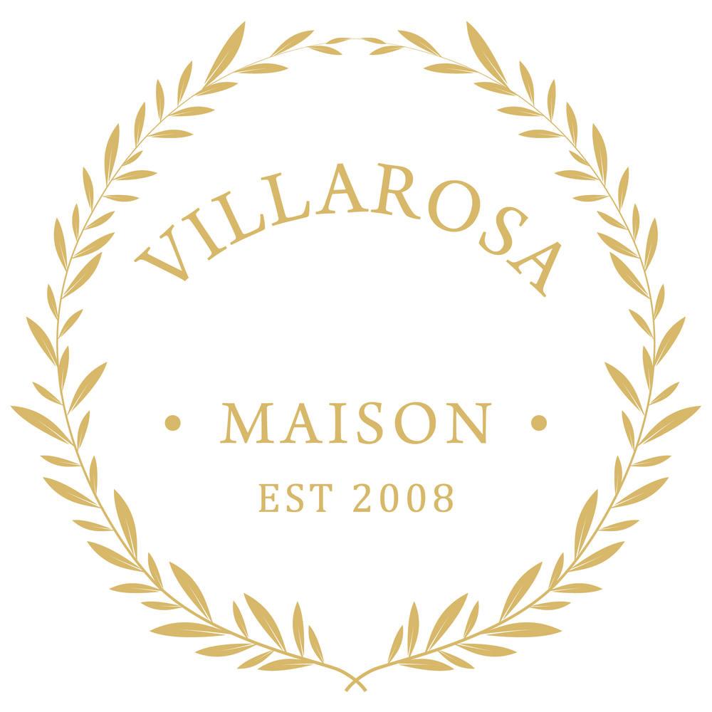 Villarosa maison  logo design