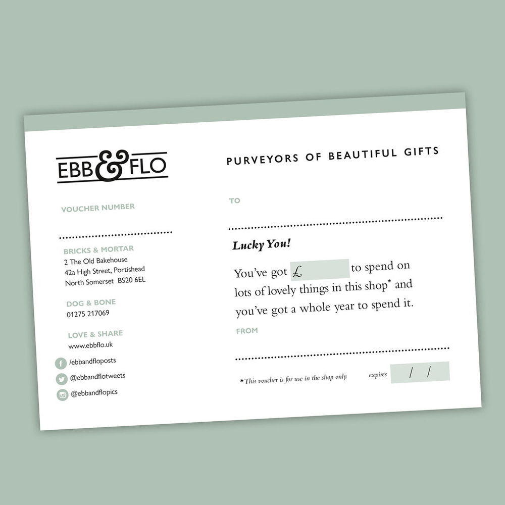 Gift vouchers - We all have that friend who's a bit tricky to buy for. Gift vouchers let them choose the perfect gift for them whilst eliminating any headaches for you!You can purchase gift vouchers in store.