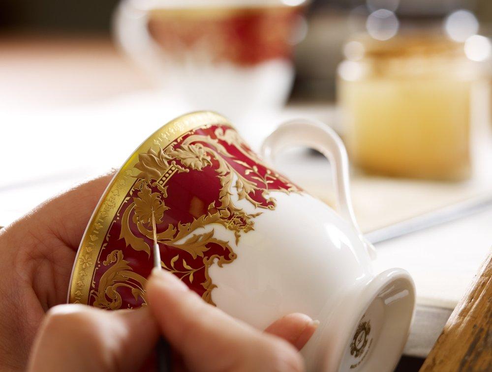lynton fine bone china cup