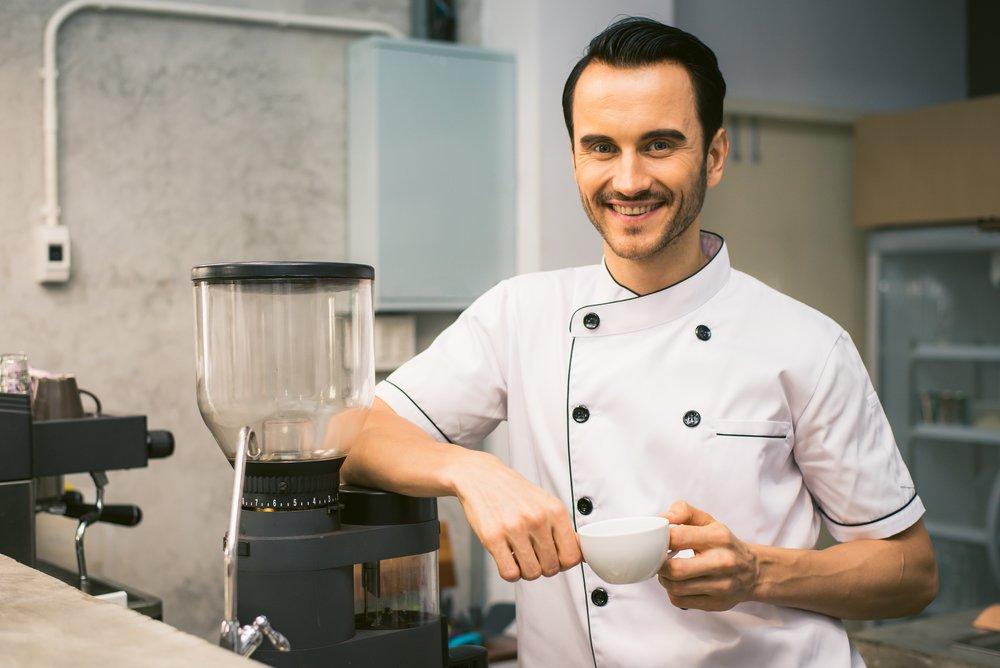 If chefs built luxury websites