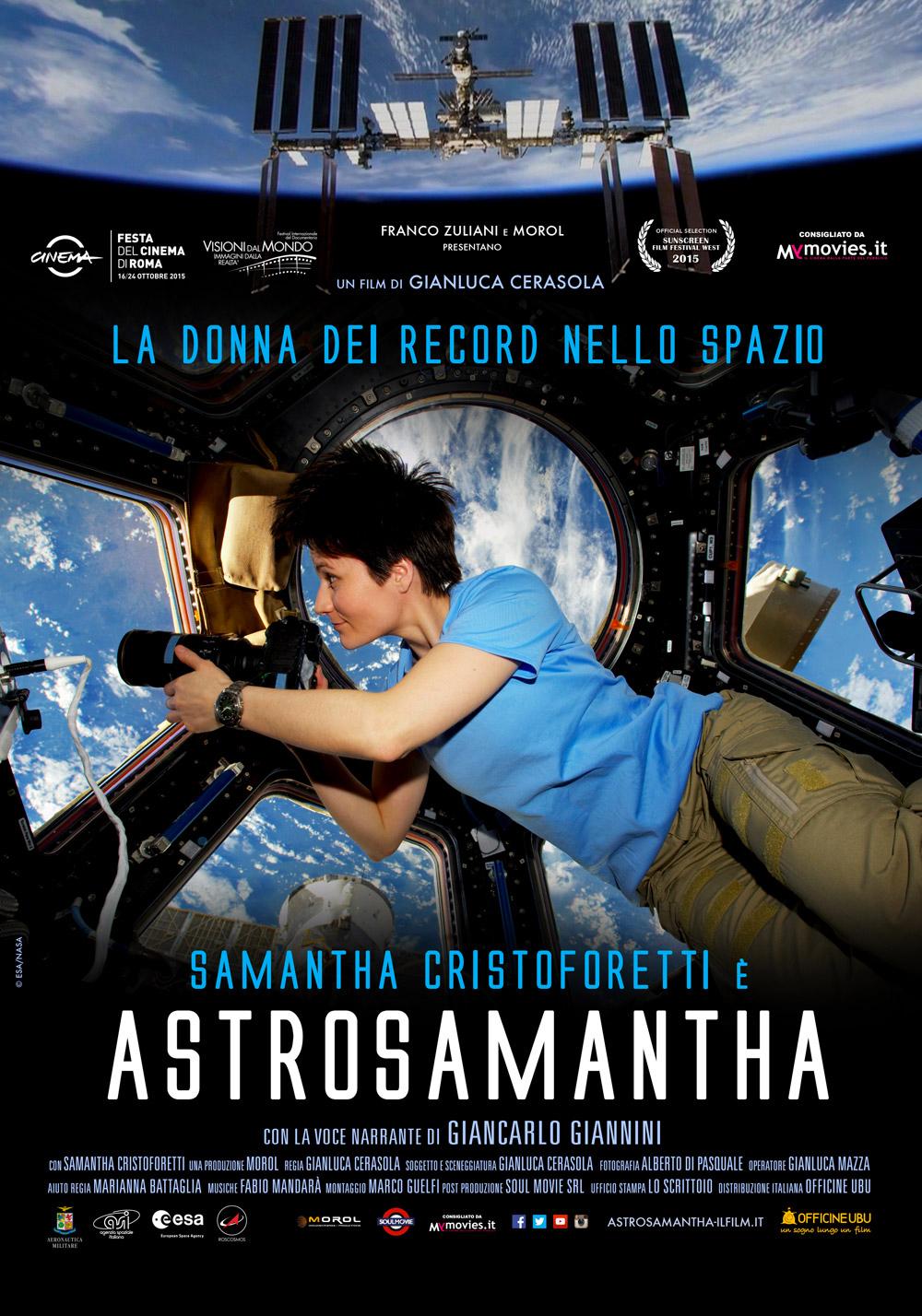 astrosamantha - il film