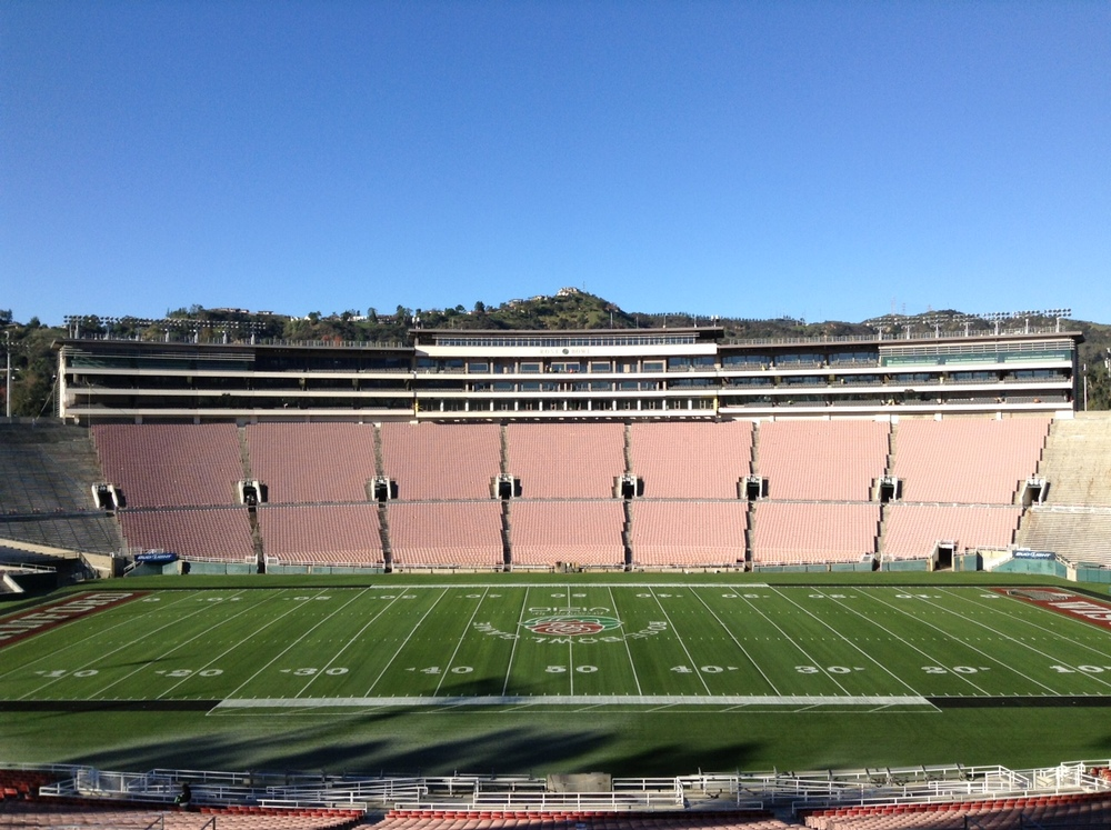 The renovation of the Historic Rose Bowl Stadium in Pasadena (with DAIQ Architects)