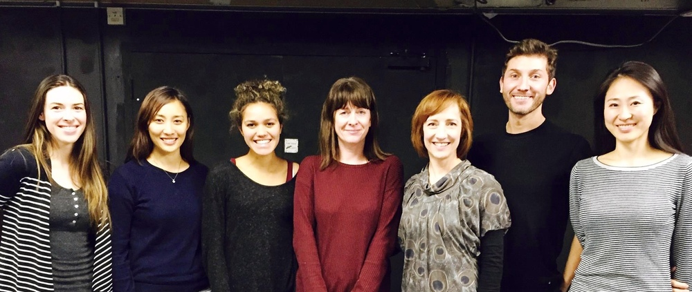 Award-Winning American Female Playwrights workshop at The Actors Centre, co-taught with Adria Dawn (not pictured)