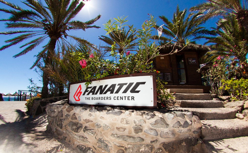 Fanatic Boarders Centre - Gran Canaria - windsurf centre, lessons, rental, north windsurf, ion  Fanatic Boarders Centre Gran Canaria is biggest, best and longest running windsurfing school in Gran Canaria. Located in Bahia Feliz, between the world cup spot Pozo Izquierdo and popular tourist resorts Maspalomas and Playa del Ingles, FBC Gran Canaria sits on the grounds of the Orchidea Hotel.  We stock boards from Fanatic, sails from North Windsurf and we?re also offering kayaks and SUPs.  The small beach receives consistent wind from either the left or right and is graced by challenging chop and occasionally even small waves. The conditions are ideal for flatwater blasting, freestyle and slalom training and the calmer conditions in the early morning are perfect for beginners, through to intermediates.  When better conditions present themselves at Pozo, Vargas, Arinaga or Burrero, our exclusive excursion package means we can take a day trip to those locations.  windsurfing / gran canaria / fanatic / lessons / bahia feliz / fanatic boarders center / club mistral / canary islands / spain / sup / surfing / center / kids / rental / spots / holidays / storage / mistral / north sails / shop / board rental / ion club / ion / sails / pozo izquierdo / fun / maspalomas / playa del ingles / kitesurfing / service / waves / flat water / playa tarajalillo / orquidea / tui / equipment / camps / active / family / waveriding / watersports / sports / activities / center / stand up paddleboarding / isup / windsup