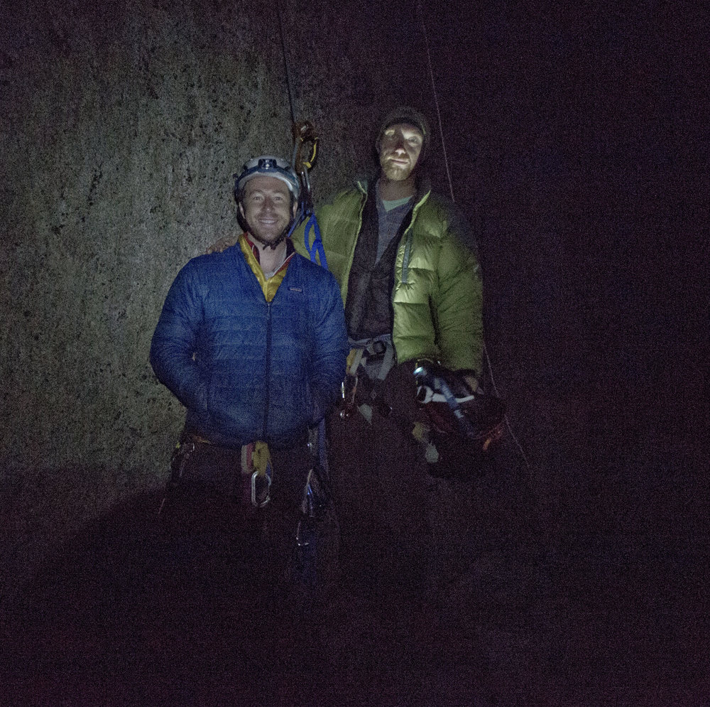 the base of El-cap at 3:15 am