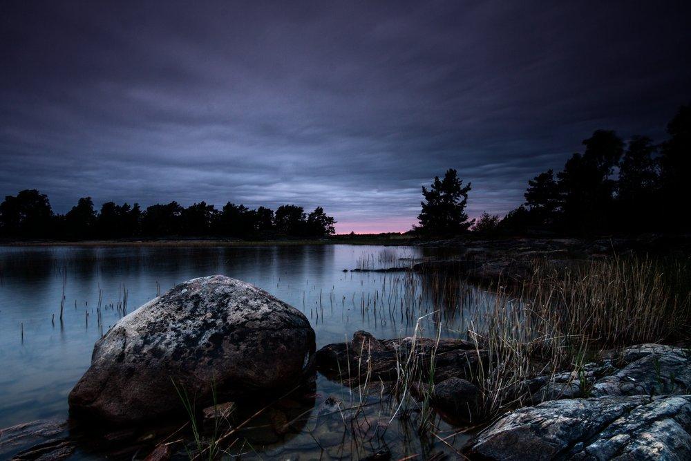 Het Vänernmeer bij Karlstad