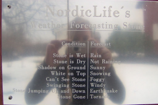 Nordiclife - weather forcasting stone