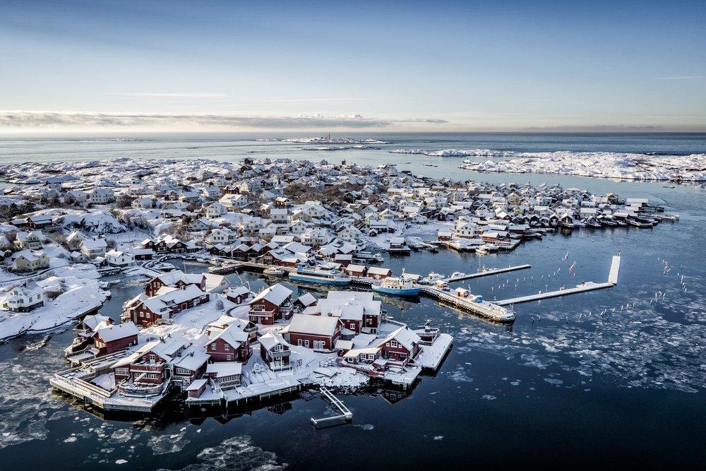 Orust boven Göteborg is een bezoek waard
