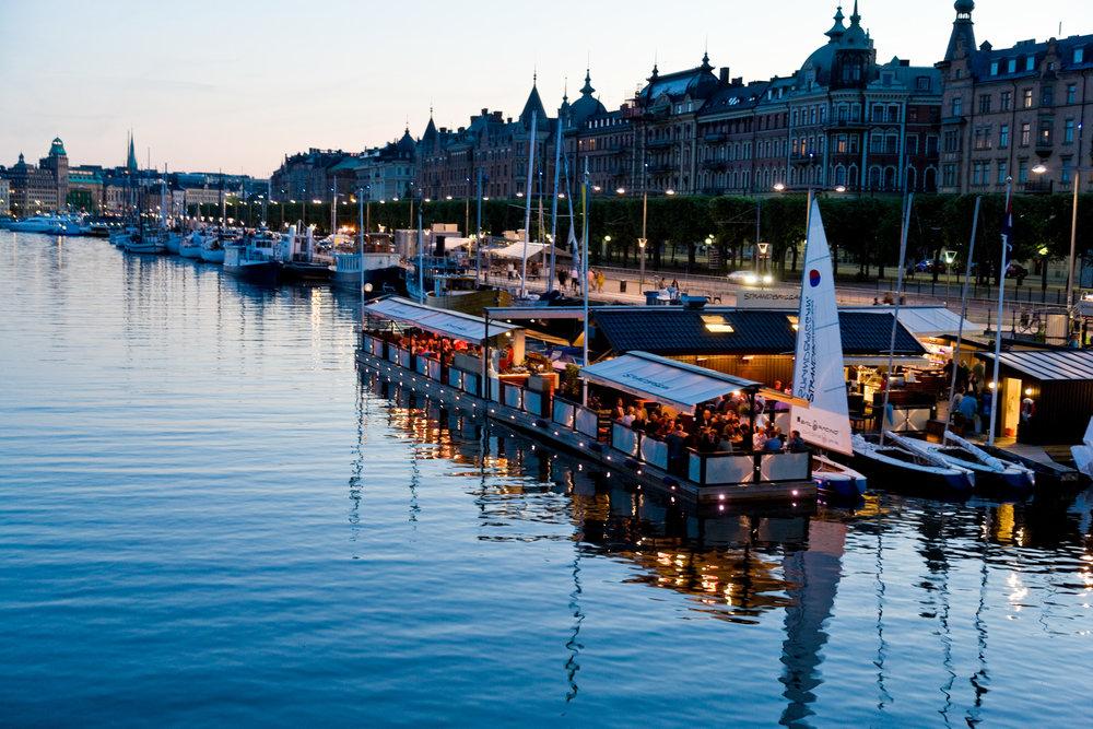 Stockholm, strandvägen