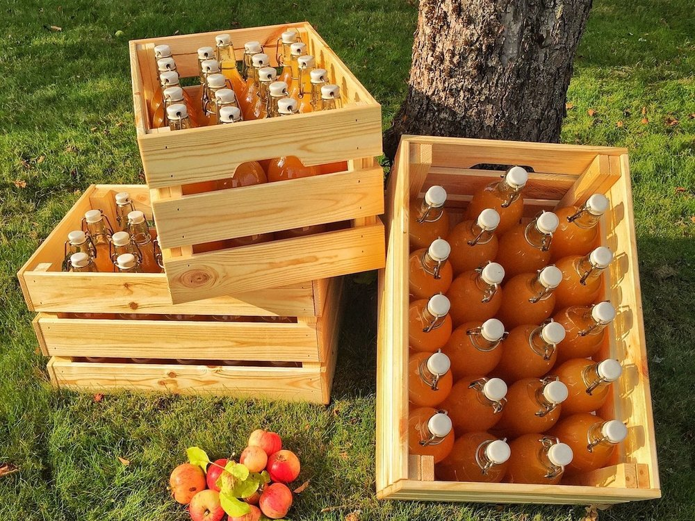 Juice made from our apples