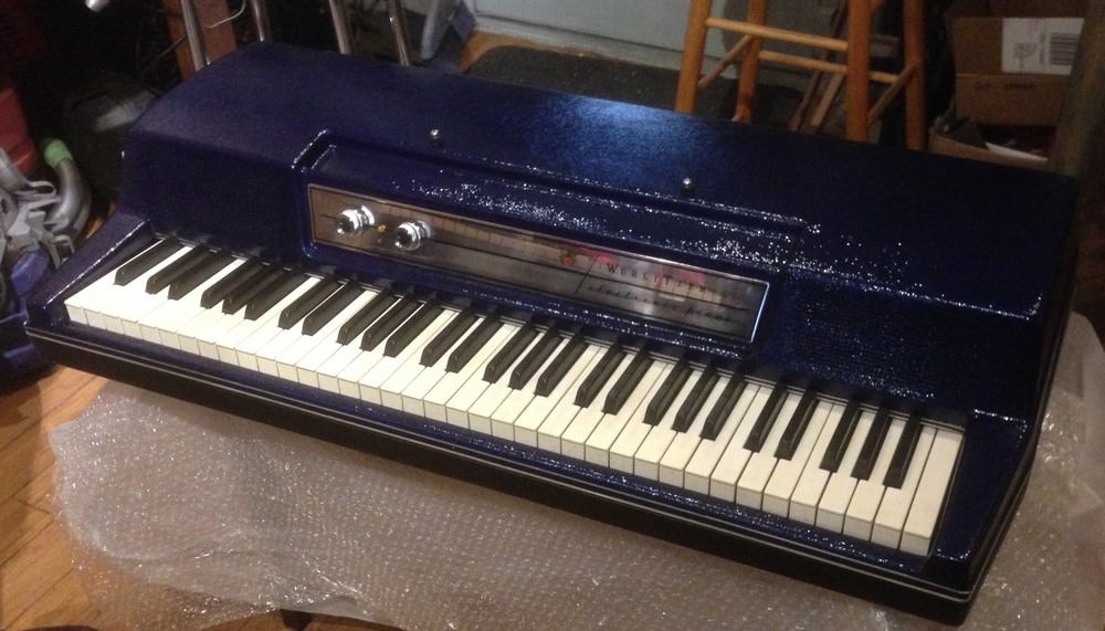 Wurlitzer: Custom deep blue