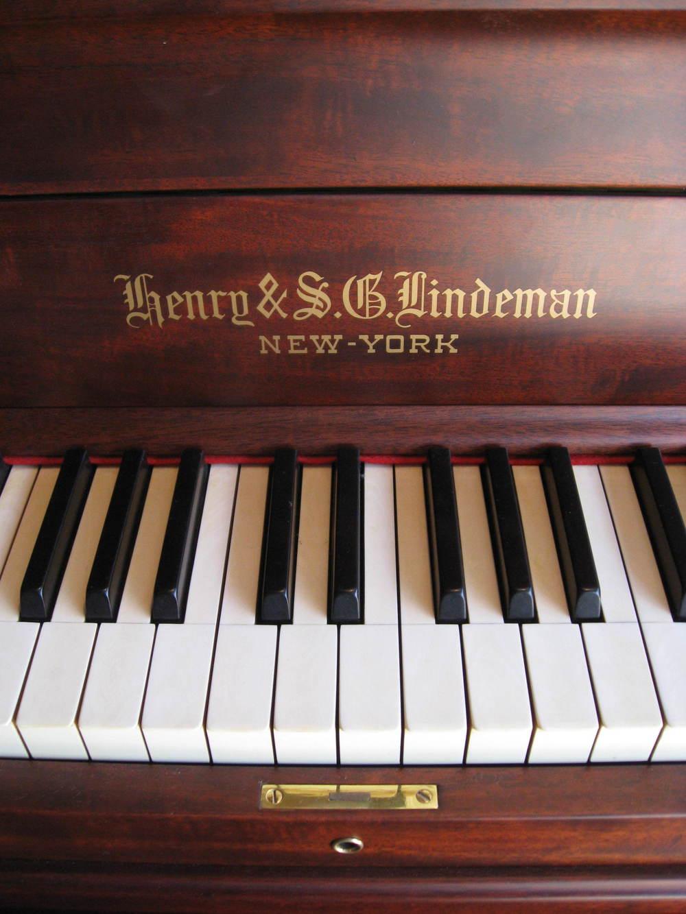 Henry & S.G. Lindeman Fallboard