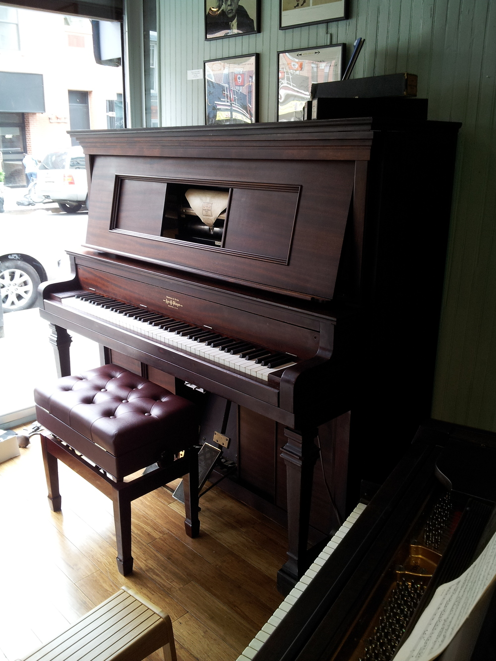 Norris & Hyde Player Piano