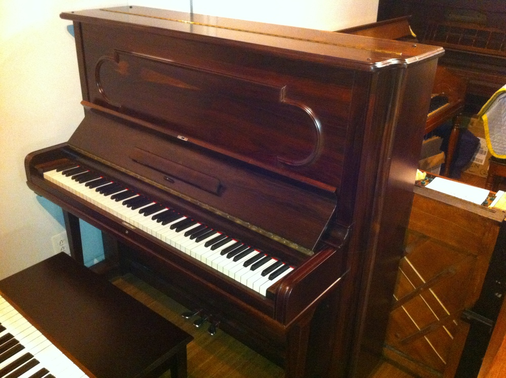 Steinway Rosewood Upright 1881