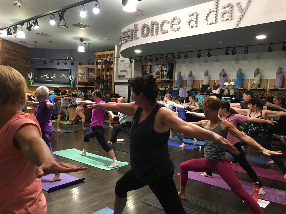 Lululemon Athletica at the Kenwood Towne Centre in Cincinnati, Ohio