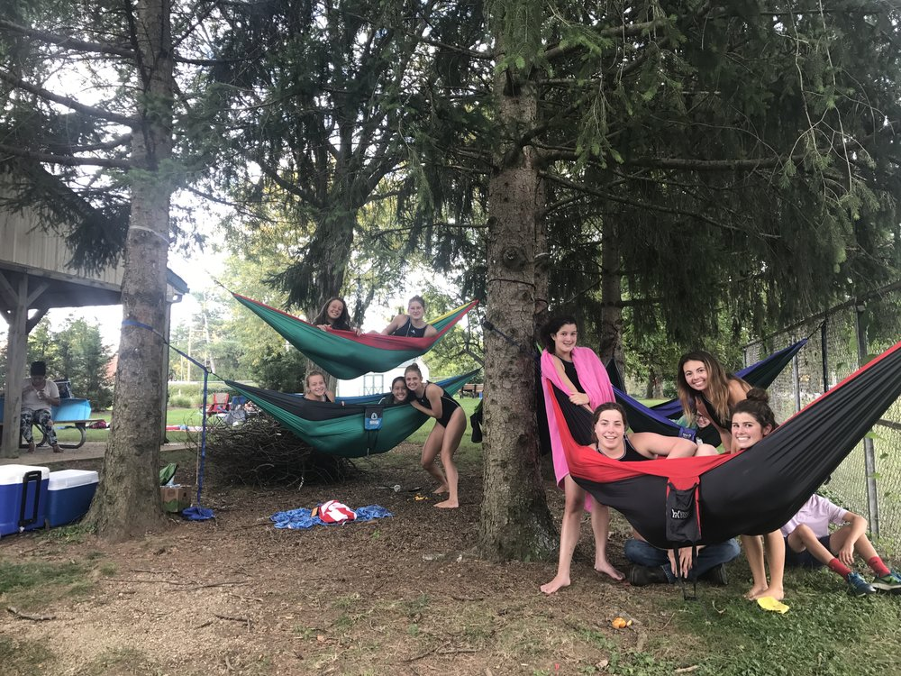 As I watched the girls rest, giggling in the hammocks, I knew I was a part of something big. I felt my purpose and my heart welled with gratitude. I have never been so happy to be able to give my time to something. To be a part of something so powerful. It may seem small to some of you reading this, but in that moment, that energy that filled me, well.... it is still within me.... I encourage you to get involved. Find your tribe. Find your purpose! All that means is find a group of people that want you around and that involves doing something you absolutely love, even if only for one hour a week. Believe me when I tell you it is worth it!