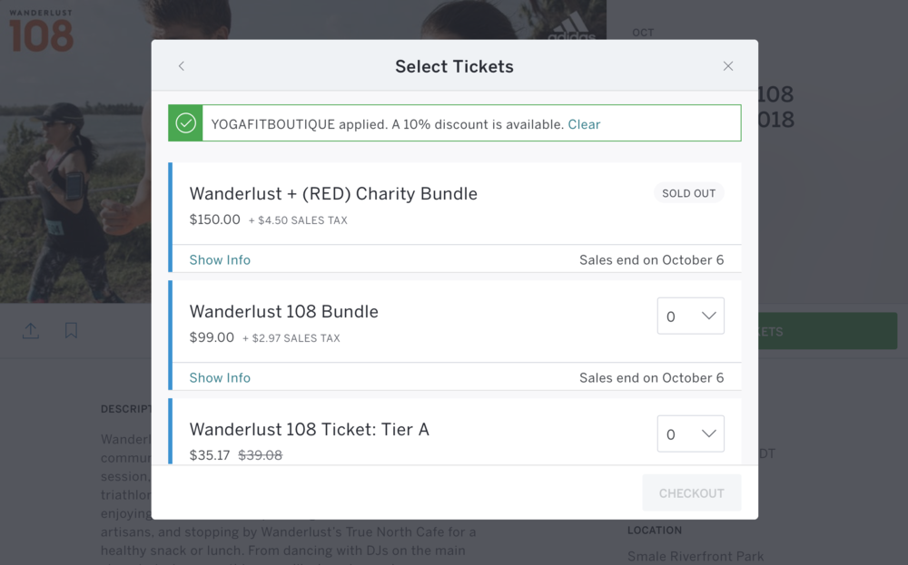 Wanderlust-Tickets
