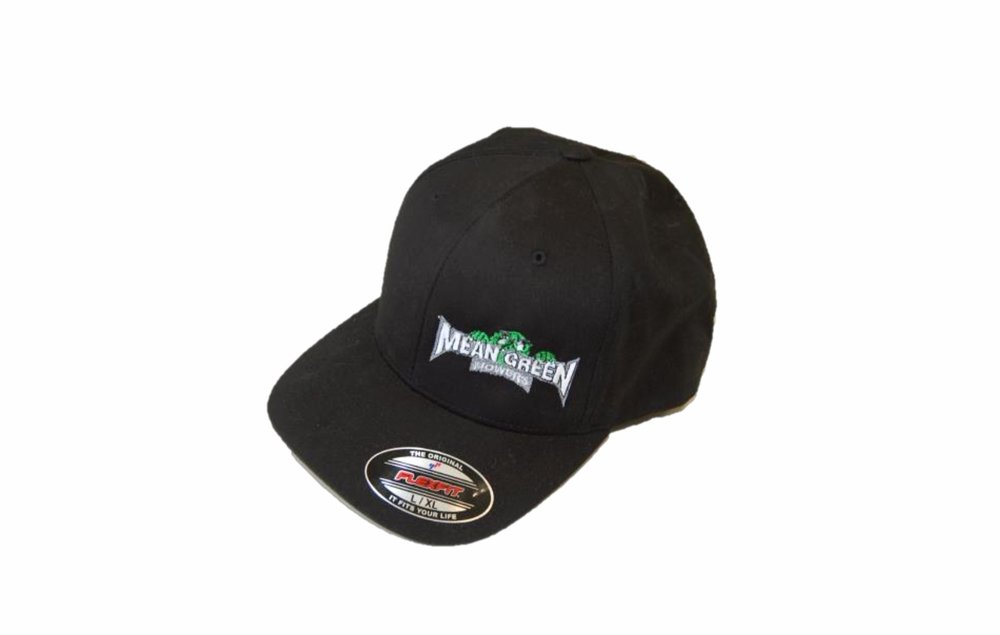 Mean Green Mowers Flexfit Hat