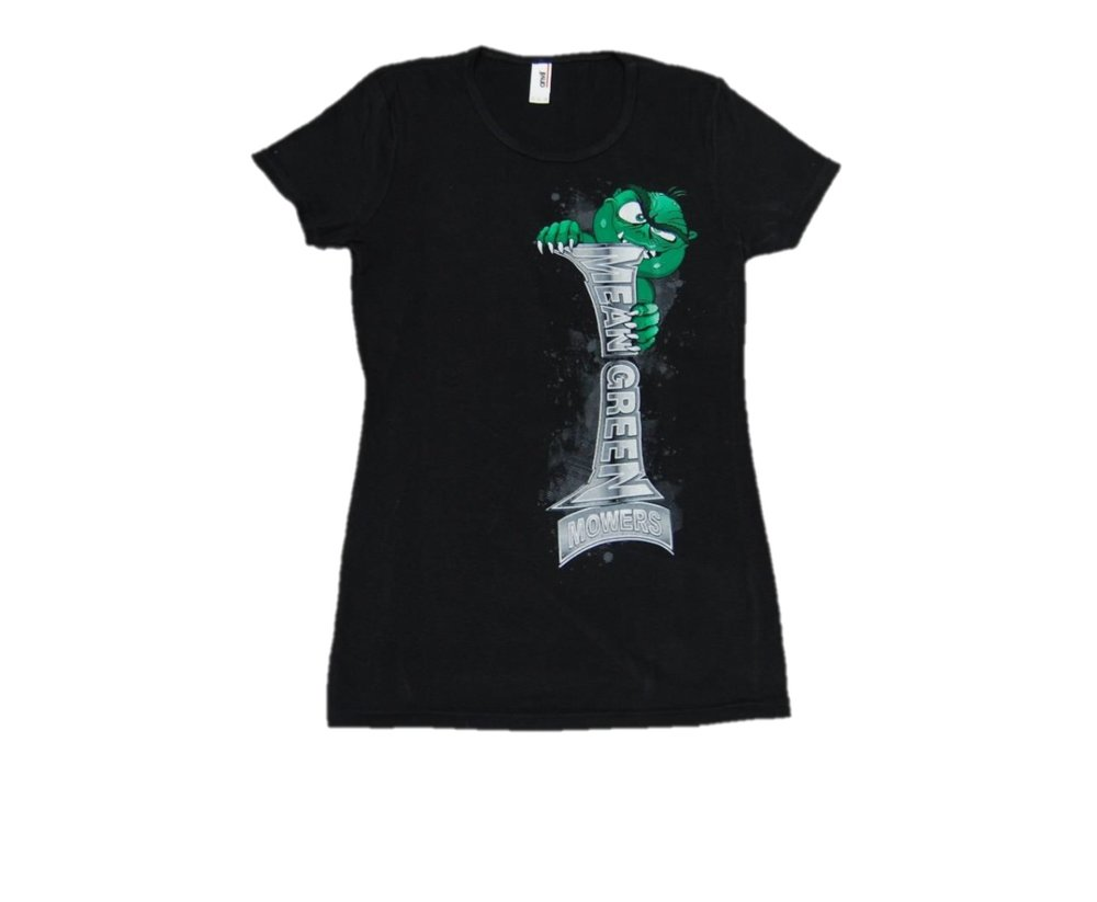 Mean Green Mowers Ladies Shirt