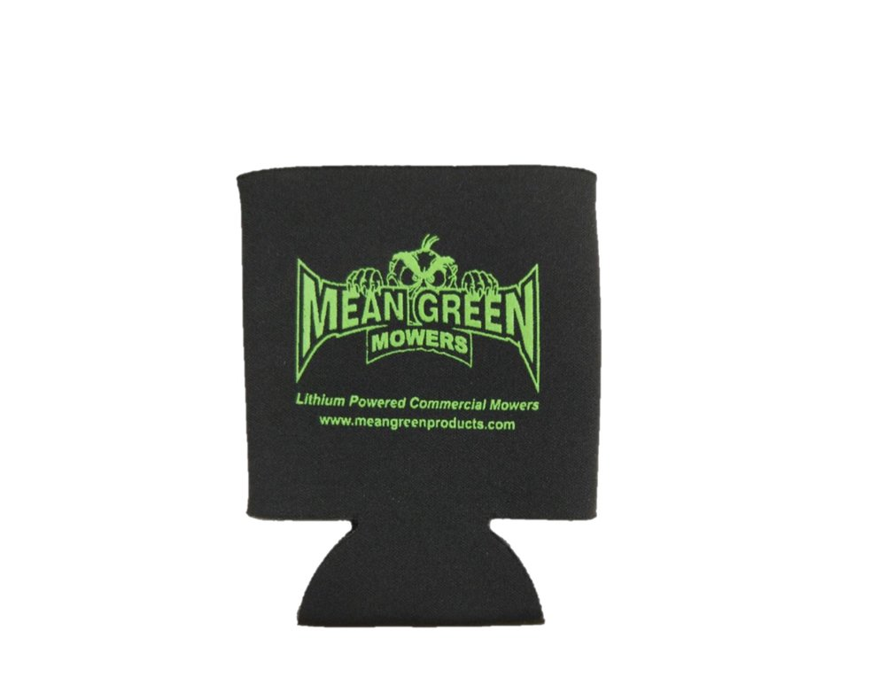 Mean Green Mowers Koozie