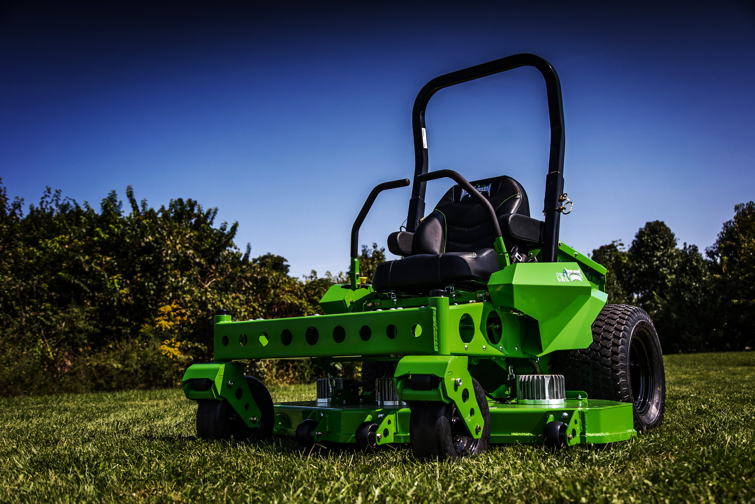 Mean Green Mowers Wiring Diagram Car Lift Further John Deere Lawn Mower Warning Light The Future Is