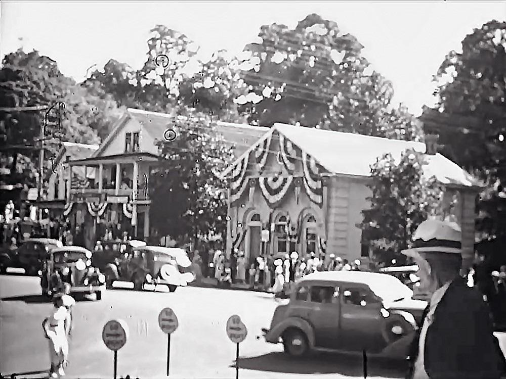 From the Centennial film, 1936.