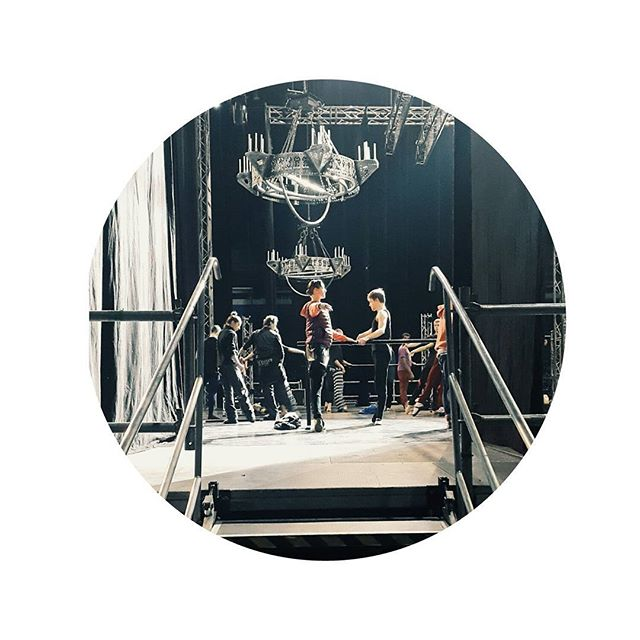 They are here! Rehearsal 🙅 @SiemensArena @gatsbyballet
