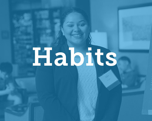 Creating opportunities to develop the habits required to excel