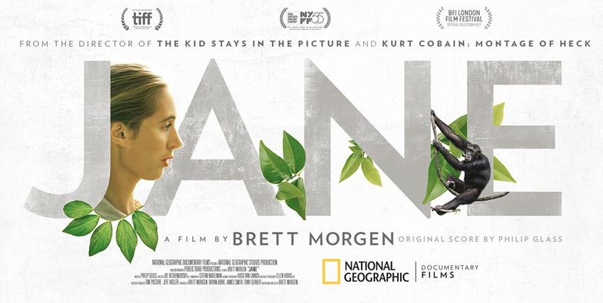 JANE (2017) Dir. Brett Morgen — Post-Production Intern
